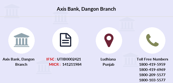 Axis-bank Dangon branch