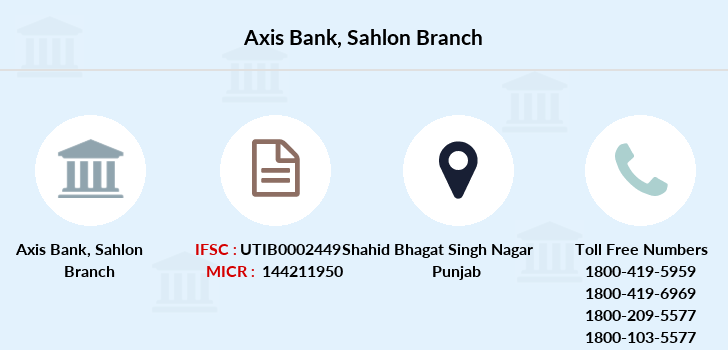 Axis-bank Sahlon branch