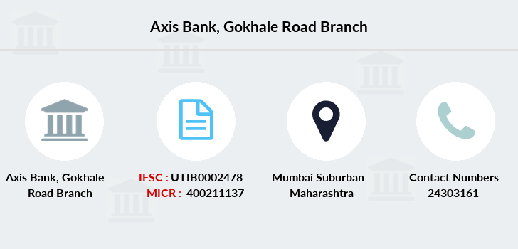 Axis-bank Gokhale-road branch