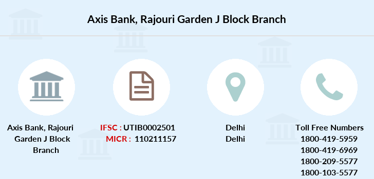 Axis-bank Rajouri-garden-j-block branch