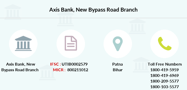 Axis-bank New-bypass-road branch