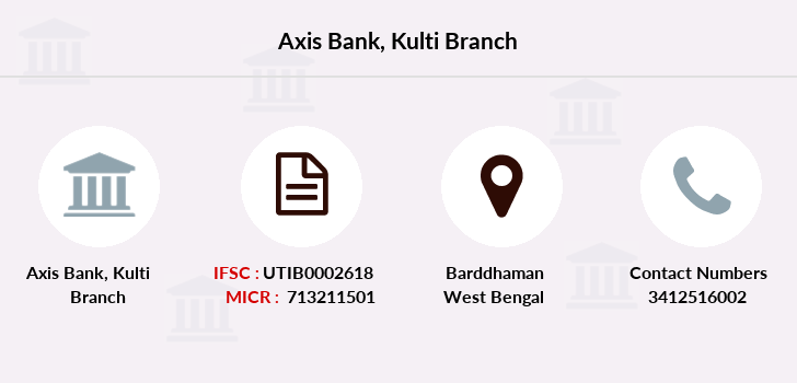 Axis-bank Kulti branch