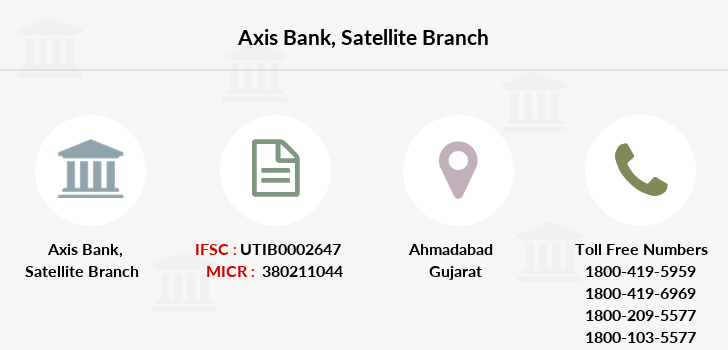 Axis-bank Satellite branch