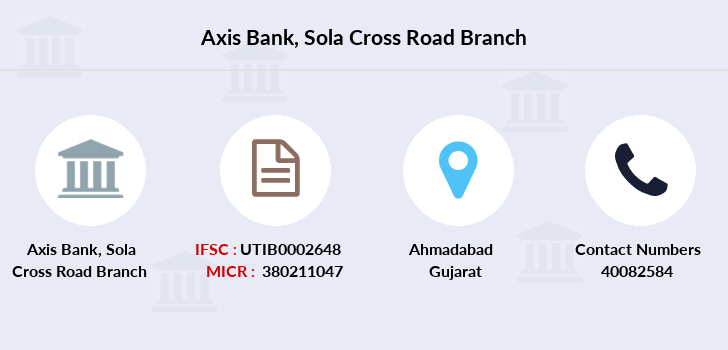 Axis-bank Sola-cross-road branch