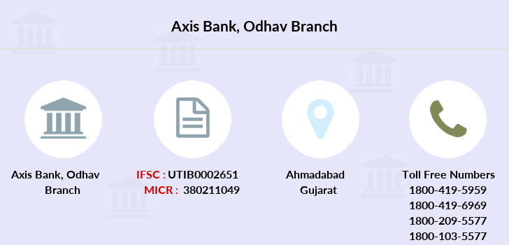 Axis-bank Odhav branch