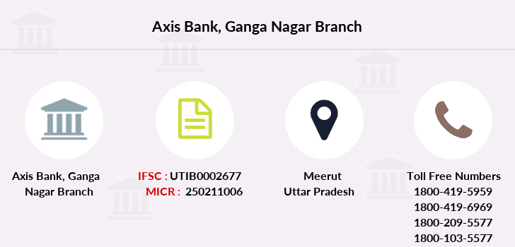 Axis-bank Ganga-nagar branch