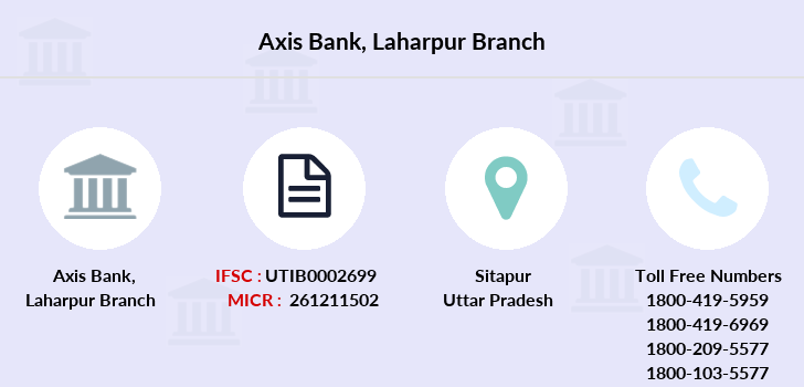 Axis-bank Laharpur branch