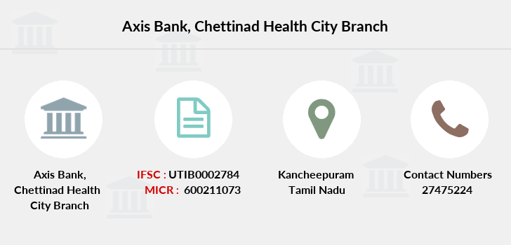 Axis-bank Chettinad-health-city branch