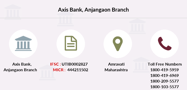 Axis-bank Anjangaon branch