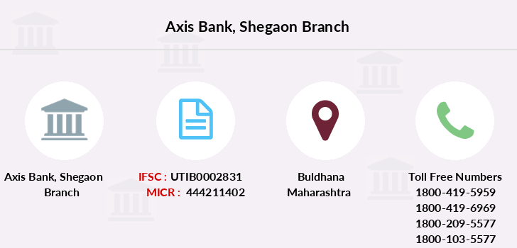 Axis-bank Shegaon branch