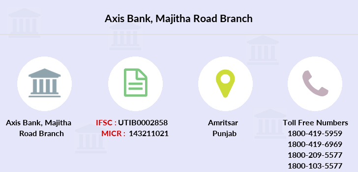 Axis-bank Majitha-road branch