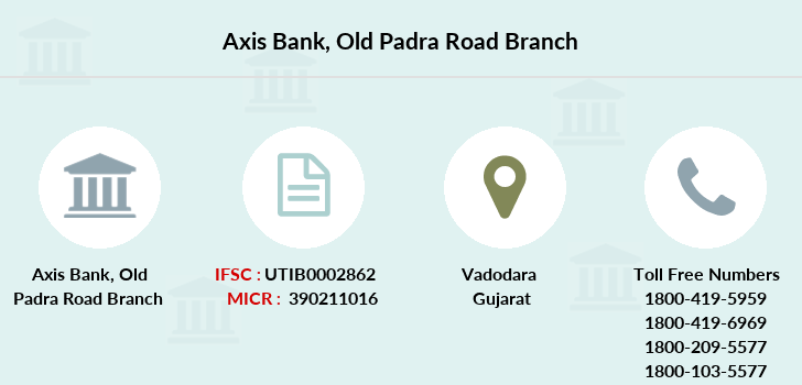 Axis-bank Old-padra-road branch