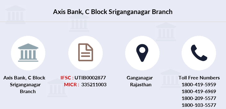 Axis-bank C-block-sriganganagar branch