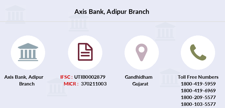 Axis-bank Adipur branch
