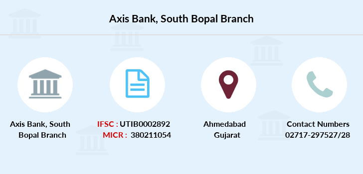 Axis-bank South-bopal branch