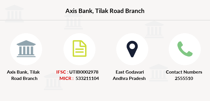 Axis-bank Tilak-road branch
