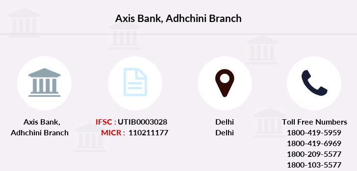 Axis-bank Adhchini branch