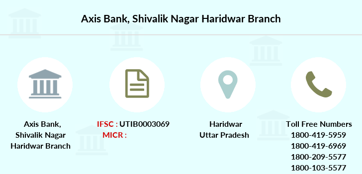 Axis-bank Shivalik-nagar-haridwar branch