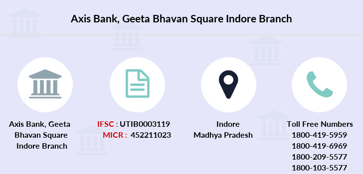 Axis-bank Geeta-bhavan-square-indore branch