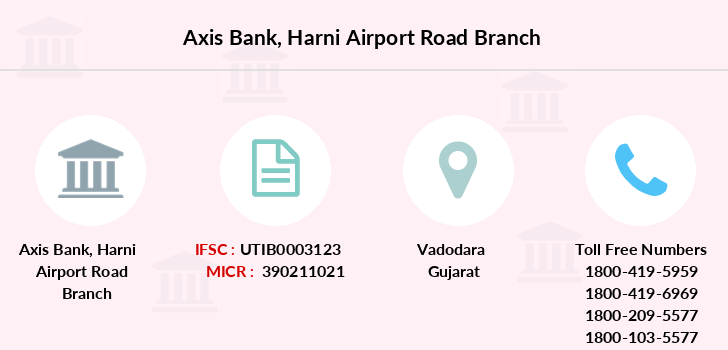 Axis-bank Harni-airport-road branch