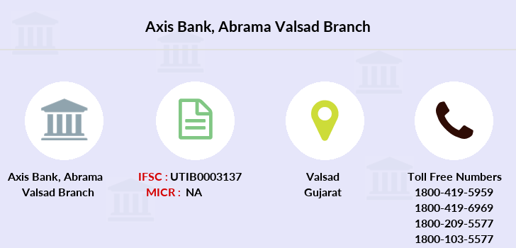 Axis-bank Abrama-valsad branch