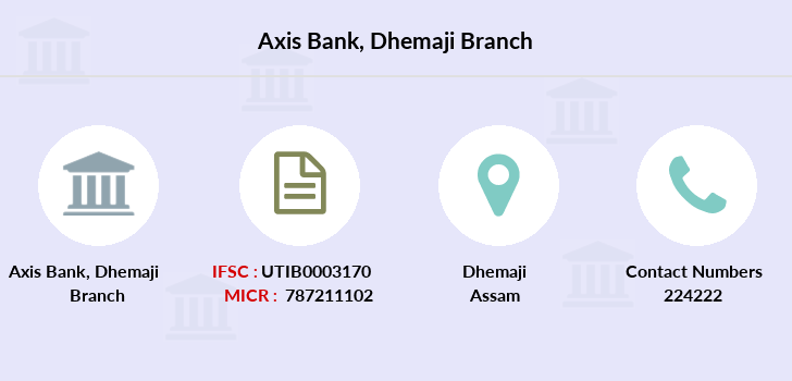Axis-bank Dhemaji branch