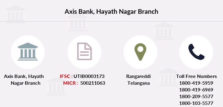 Axis-bank Hayath-nagar branch