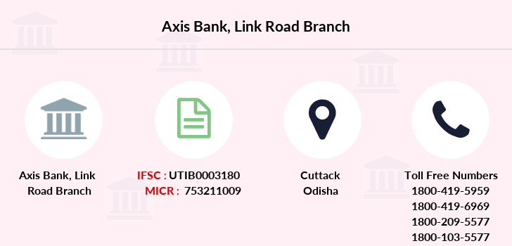 Axis-bank Link-road branch