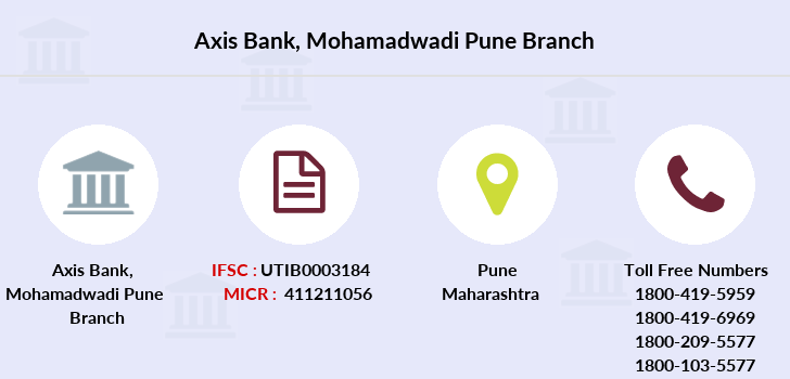 axis bank branch address pune