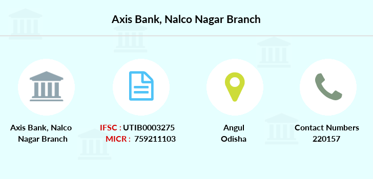 Axis-bank Nalco-nagar branch