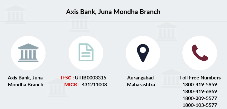 Axis-bank Juna-mondha branch