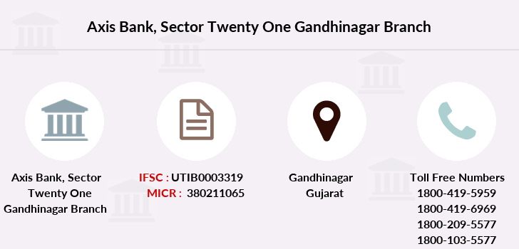 Axis-bank Sector-twenty-one-gandhinagar branch