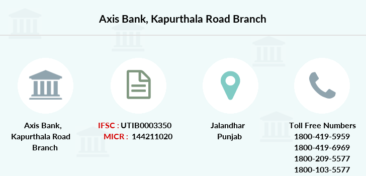 Axis-bank Kapurthala-road branch
