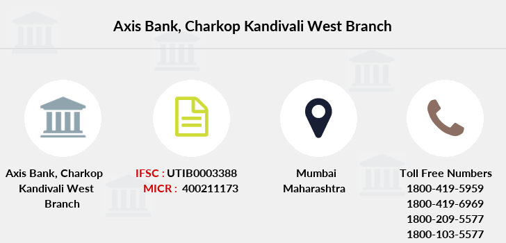 Axis-bank Charkop-kandivali-west branch