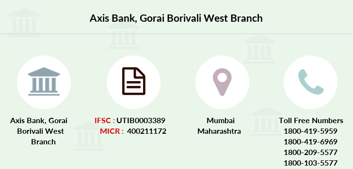 Axis-bank Gorai-borivali-west branch