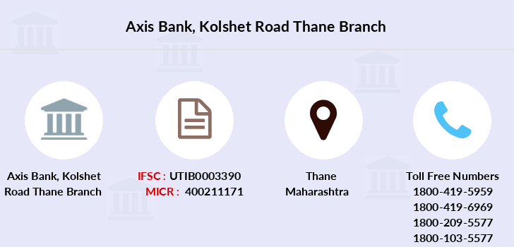 Axis-bank Kolshet-road-thane branch