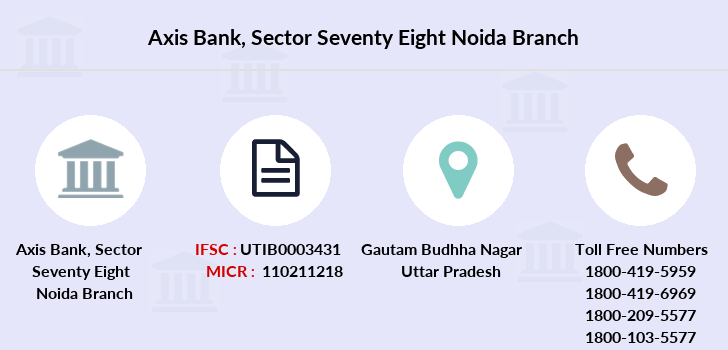 Axis-bank Sector-seventy-eight-noida branch