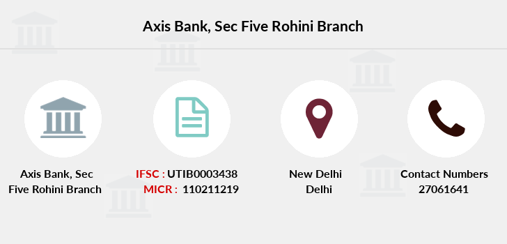 Axis-bank Sec-five-rohini branch
