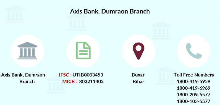 Axis-bank Dumraon branch