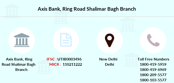 Axis-bank Ring-road-shalimar-bagh branch