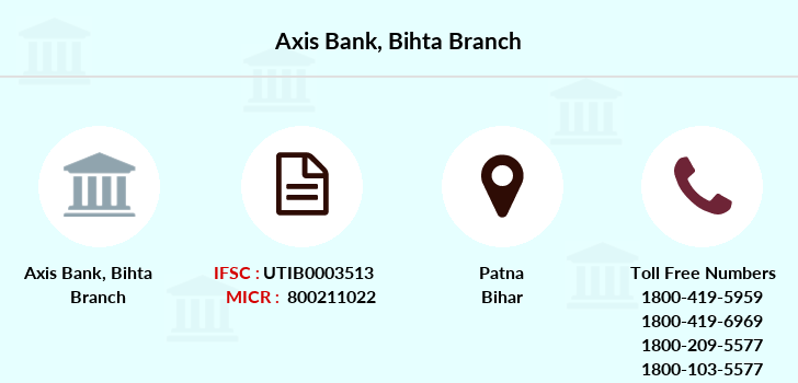 Axis-bank Bihta branch