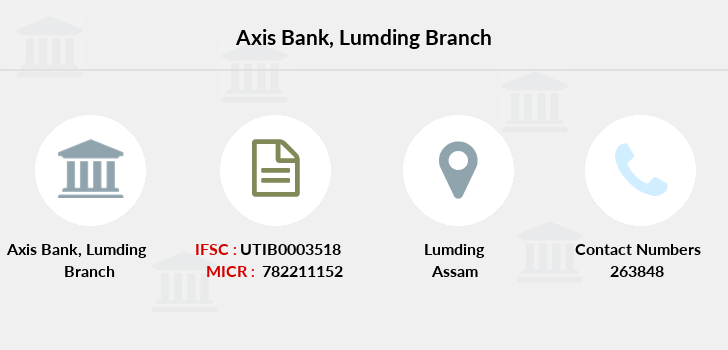 Axis-bank Lumding branch