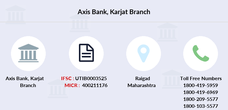 Axis-bank Karjat branch