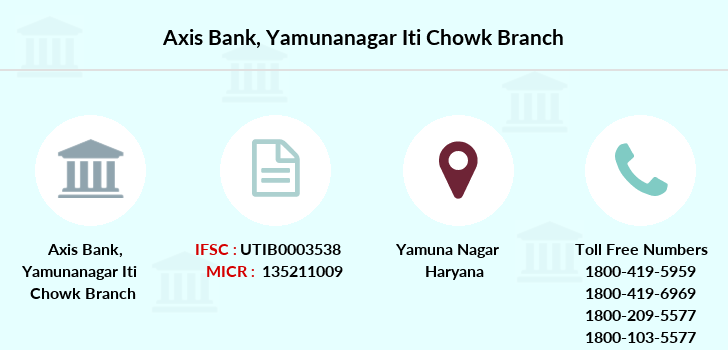 Axis-bank Yamunanagar-iti-chowk branch