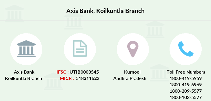 Axis-bank Koilkuntla branch