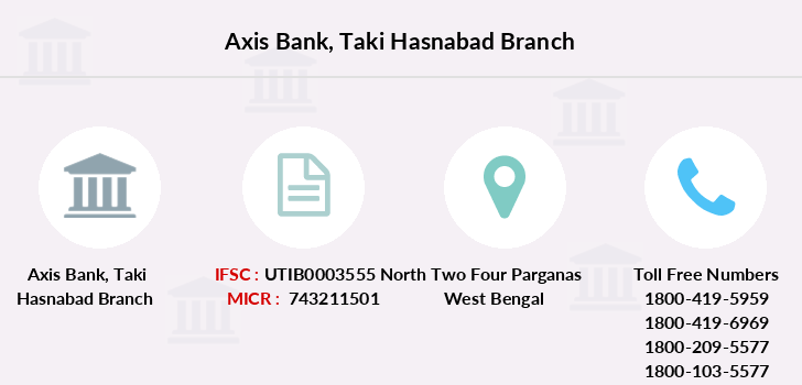 Axis-bank Taki-hasnabad branch