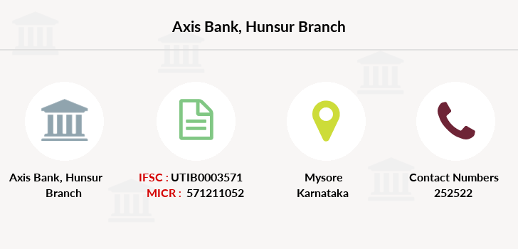 Axis-bank Hunsur branch
