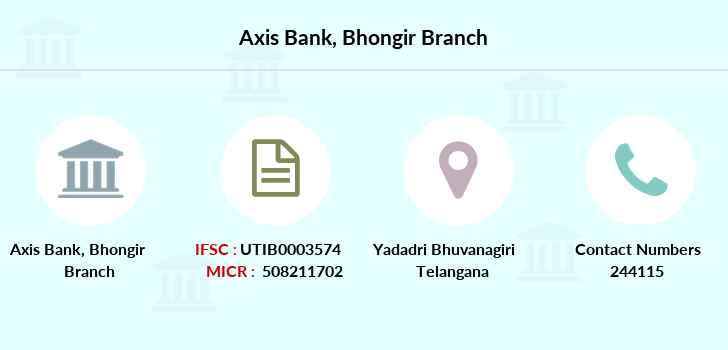Axis-bank Bhongir branch