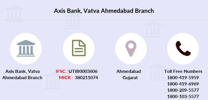 Axis-bank Vatva-ahmedabad branch