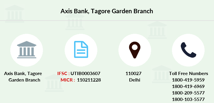 Axis-bank Tagore-garden branch